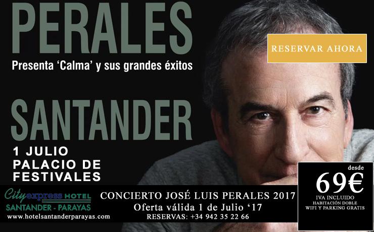 Concierto José Luis Perales en Santander - 1 de julio 2017