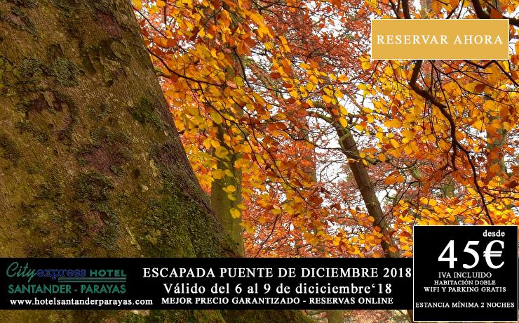 escapada hotel en Santander, oferta hotel Puente de Diciembre en Santander