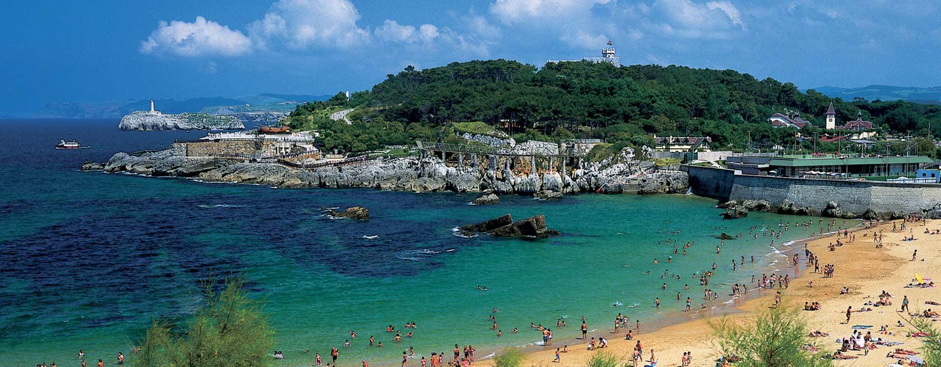 playas santander espana